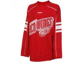 Dětské dívčí tričko Detroit Red Wings Colorblocked - dlouhý rukáv