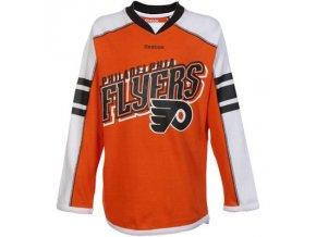 Dětské dívčí tričko Philadelphia Flyers Colorblocked - dlouhý rukáv