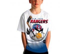 Dětské tričko New York Rangers Hockey Birds Highlight