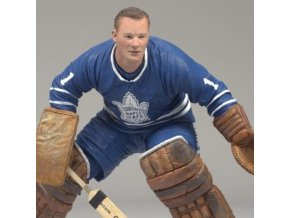 Figurka - McFarlane - Toronto Maple Leafs - Johnny Bower- Blue Jersey