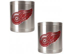 Chladič nápojů - Detroit Red Wings - kovový - 2 kusy