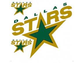 Logo na stěnu - Peel and Stick - Dallas Stars