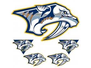 Logo na stěnu - Peel and Stick - Nashville Predators