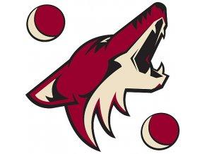 Logo na stěnu - Peel and Stick - Arizona Coyotes (Phoenix Coyotes)