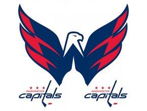 Logo na stěnu - Peel and Stick - Washington Capitals