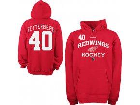 Mikina - #40 - Henrik Zetterberg - Detroit Red Wings