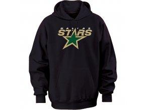 Mikina - Team Logo II.- Dallas Stars - černá