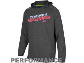 Mikina - Travel and Training Performance - Columbus Blue Jackets