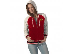 Mikina - Velour Cheer - Chicago Blackhawks - dámská