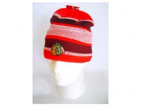 NHL čepice Chicago Blackhawks Faceoff Revers