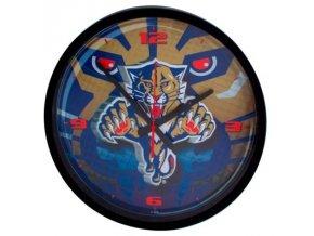 NHL nástěnné hodiny Florida Panthers Round Clock