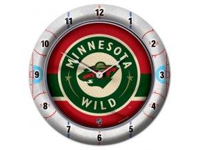 NHL nástěnné hodiny Minnesota Wild