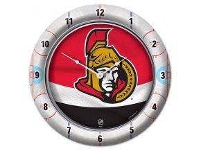 NHL nástěnné hodiny Ottawa Senators