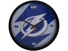 NHL nástěnné hodiny Tampa Bay Lightning Round Clock