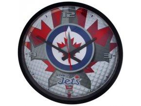 NHL nástěnné hodiny Winnipeg Jets Round Clock