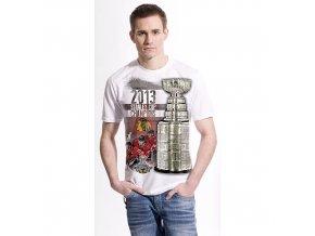 NHL Tričko Chicago Blackhawks 2013 Stanley Cup Champions Big Stanley