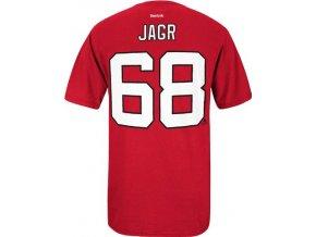 NHL tričko Jaromír Jágr #68 New Jersey Devils