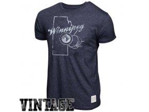 NHL tričko Winnipeg Jets Mock Twist