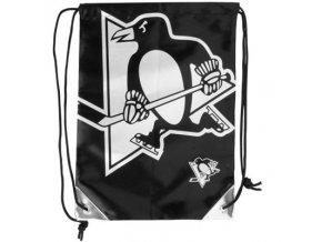 NHL vak Pittsburgh Penguins Metallic Drawstring