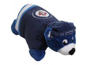 Plyšový maskot - polštář Winnipeg Jets