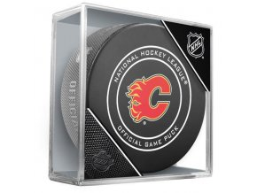 Puk Calgary Flames Official Game Puck