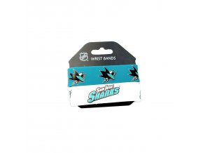 Silikonový náramek - San Jose Sharks - 2 kusy