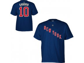 Tričko - #10 - Marian Gaborik - New York Rangers - Third Logo