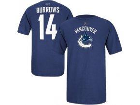 Tričko - #14 - Alex Burrows - Vancouver Canucks