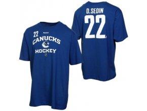Tričko - #22 - Daniel Sedin - Vancouver Canucks Royal