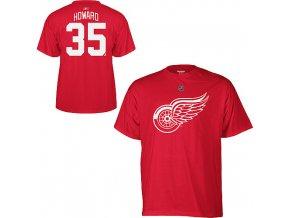 Tričko - #35 - Jimmy Howard - Detroit Red Wings
