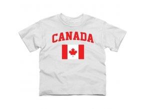 Tričko - Canada Flag - dětské