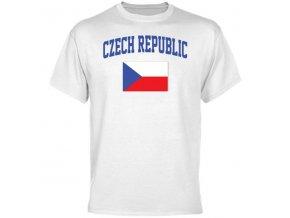 Tričko - Czech Republic Flag