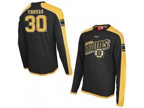 Tričko - Faceoff Jersey - Boston Bruins Tim Thomas