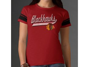 Tričko - Game Time - Chicago Blackhawks - dámské