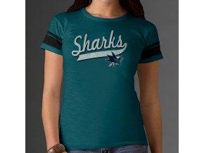 Tričko - Game Time - San Jose Sharks - dámské