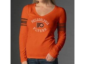 Tričko - Homerun - Philadelphia Flyers - dámské - oranžové
