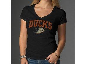 Tričko Anaheim Ducks Arch Scrum - dámské