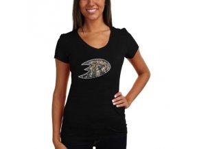 Tričko Anaheim Ducks Sequin Logo - dámské