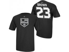 Tričko Dustin Brown #23 Los Angeles Kings Third Logo