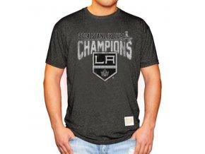 Tričko Los Angeles Kings 2014 Stanley Cup Mock Twist