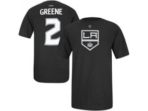 Tričko Matt Greene #2 Los Angeles Kings Third Logo