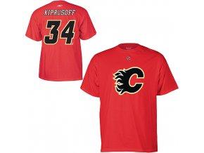 Tričko Miikka Kiprusoff #34 Calgary Flames
