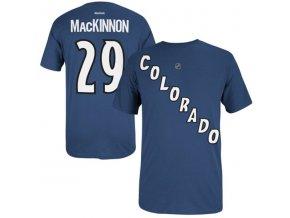 Tričko Nathan MacKinnon #29 Colorado Avalanche - modré