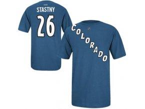 Tričko Paul Stasny #29 Colorado Avalanche - modré