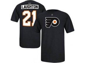 Tričko Scott Laughton #21 Philadelphia Flyers - černé