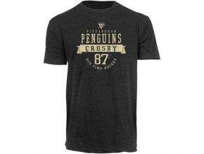 Tričko Sidney Crosby #87 Pittsburgh Penguins Wesker Tri-Blend