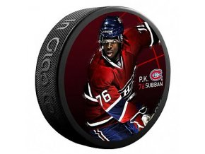 Puk P.K. Subban #76 Montreal Canadiens