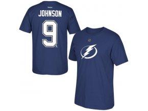 Tričko - #9 - Tyler Johnson - Tampa Bay Lightning - modré