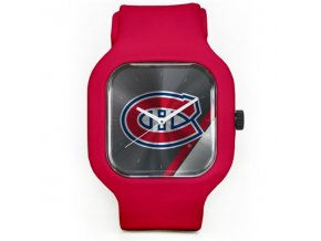 Hodinky Montreal Canadiens Modify Watches Unisex Silicone - červené