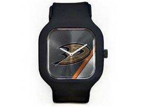 Hodinky Anaheim Ducks Modify Watches Unisex Silicone - černé